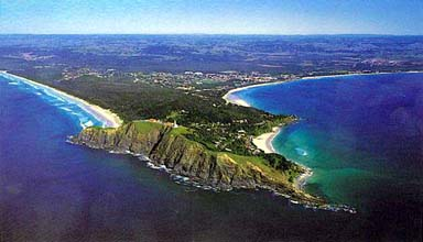Photo of Byron Bay and the most Easterly point of Australia